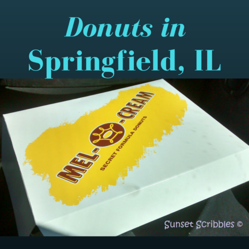 Donuts in Springfield,Illinois   Sunset Scribbles